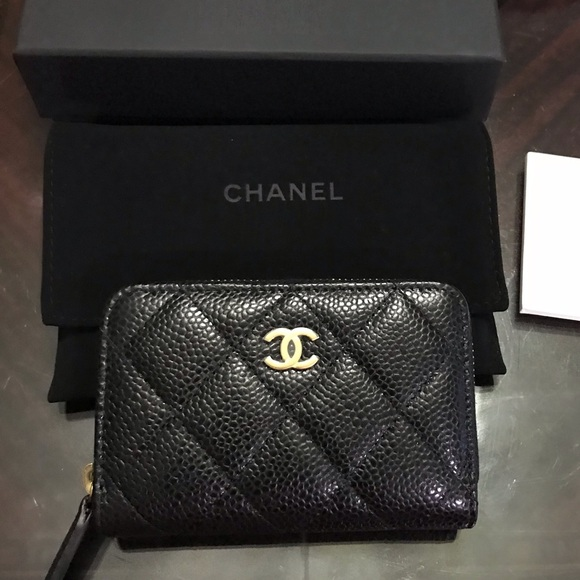 search for newest aliexpress hot new products *NEW* Chanel Classic Quilted Zip Coin Purse NWT